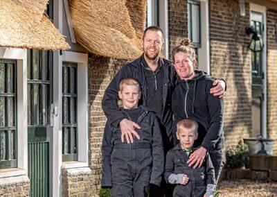 Niek, Willemijn, Teun en Jelle den Boer | De Twee Hoeven