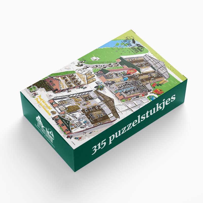 Puzzel 315 stukjes | De Twee Hoeven